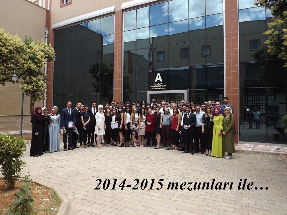 2014-2015 mezunları ile…