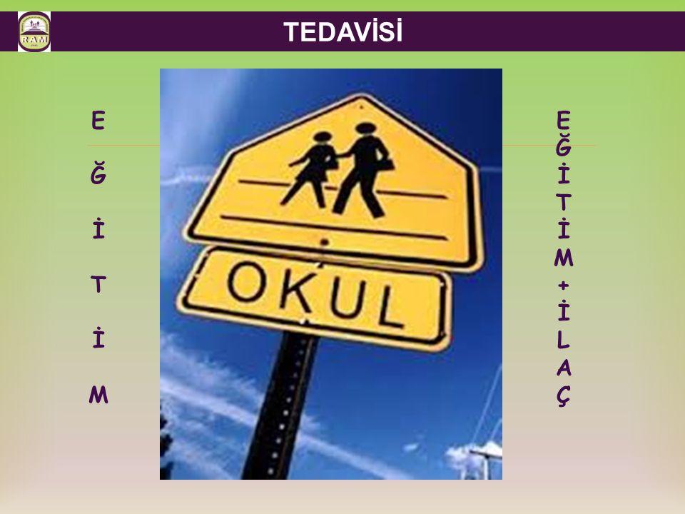  TEDAVİSİ EĞİTİMEĞİTİM EĞİTİM+İLAÇEĞİTİM+İLAÇ