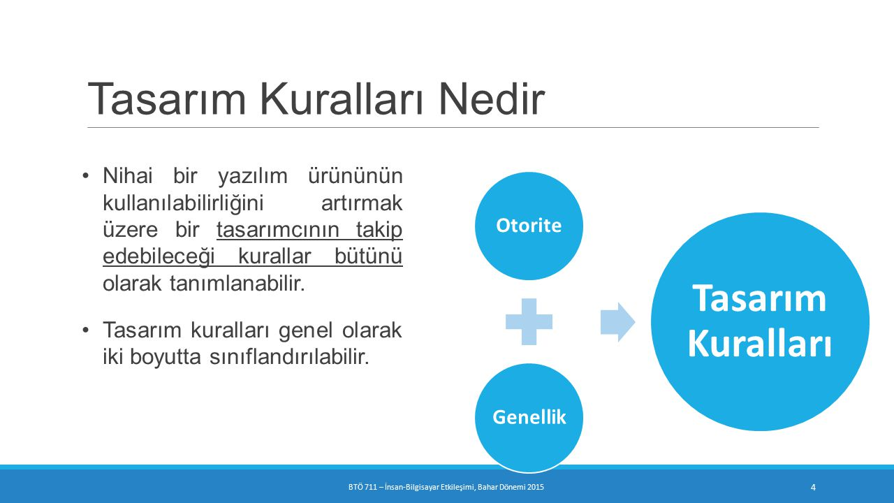 Görev Uyumu(Task conformance)  Sistem hizmetlerinin kullanıcının işlerinin tamamını destekleme derecesi  Task completeness: sonuçlanma süresini ifade eder.