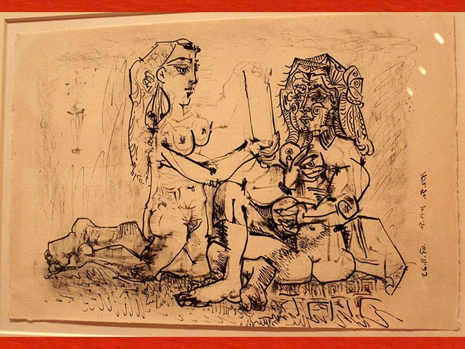 Aynaya Bakan Kadın Paris, 26 Kasım ve 10 ve 15 Aralık 1950 Çinko üzerine kalem ve zımpara ka ğ ıdı Woman before a Mirror Paris, 26 November and 10 and