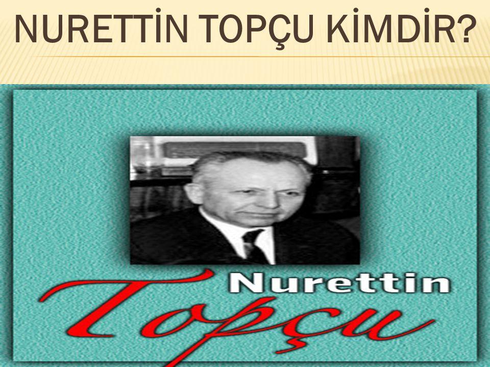 Nurettin Topçu sosyoloji, felsefe, mantık, ahlak, psikoloji, edebiyat ve güncel konulara değindiği otuzu aşkın eser yazdı.