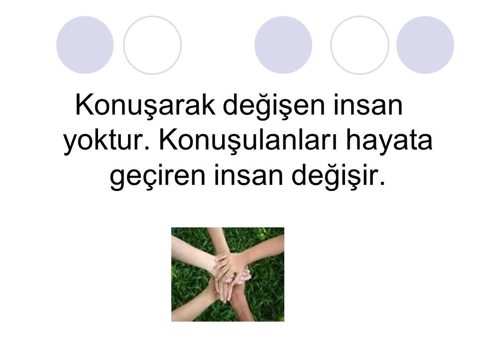 EN İYİ ÖĞÜT, ÖRNEK OLMAKTIR!