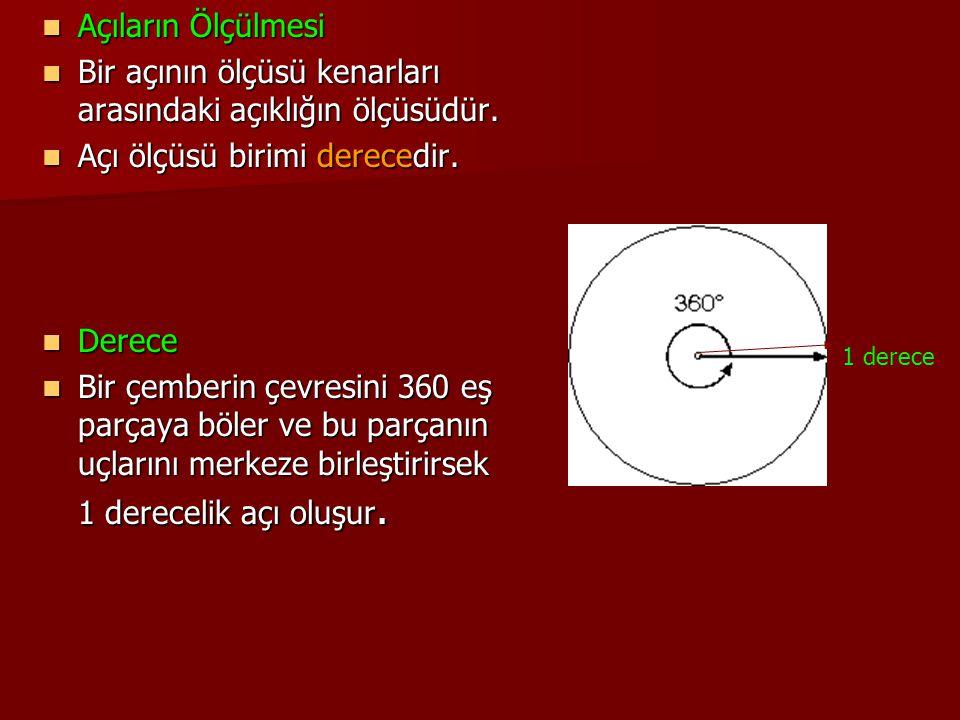 s(CAB) açısının ölçüsü 30 derece ise s(CAB) açısının ölçüsü 30 derece ise s(CAB)= 30 s(CAB)= 30 s(BAC)= 30 s(BAC)= 30 s(A)= 30 s(A)= 30 biçiminde gösterilir.