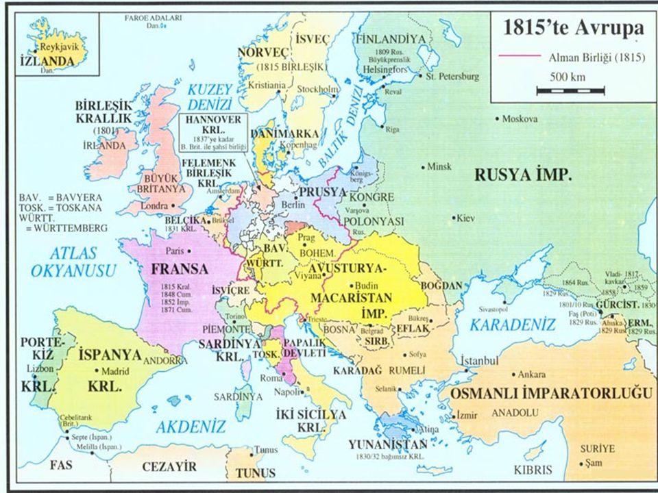 Orduda ve Maliyede Değişme 1820'lerde isyanlar Tepedelenli İsyanı, Yunan bağımsızlık hareketi, Mısır Valisi Mehmed Ali Paşa'nın isyanı Mısır isyanında İngiltere'nin yardımına yanıt 1838'de imzalanan bir ticaret sözleşmesi ile verildi.