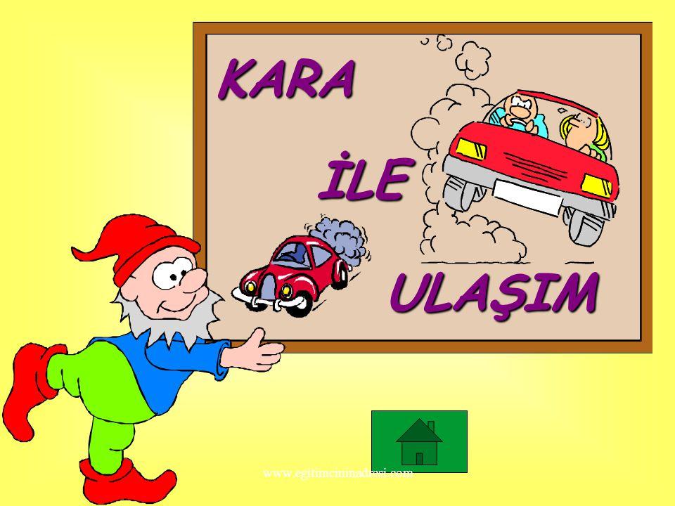 Hangi araç hızlı gider? www.egitimcininadresi.com