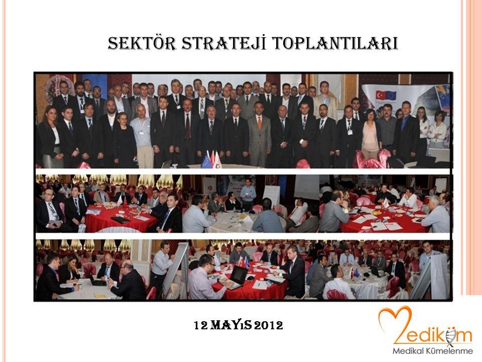 12 May ı s 2012 SEKTÖR STRATEJ İ TOPLANTILARI