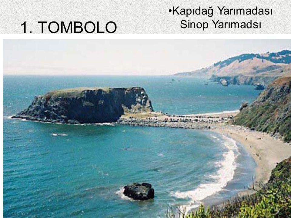 84 1. TOMBOLO Kapıdağ Yarımadası Sinop Yarımadsı
