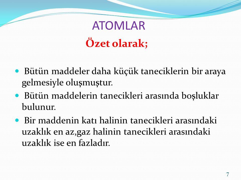 ATOMLAR 8