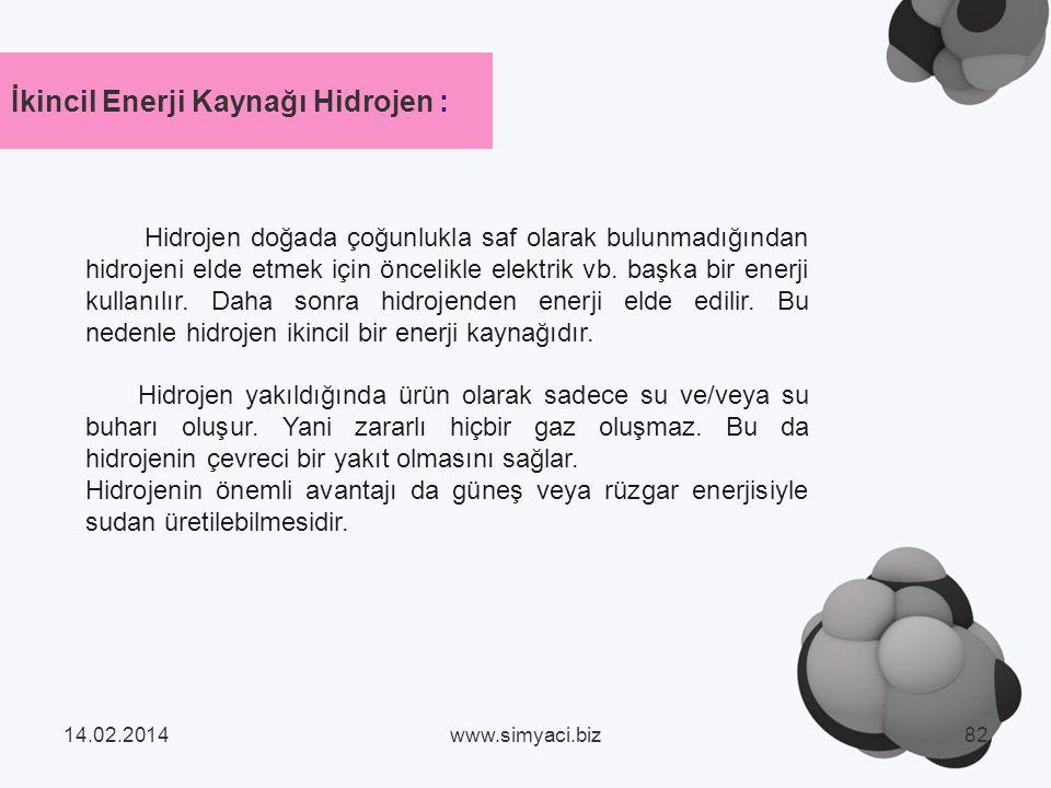 Hidrojen doğada çoğunlukla saf olarak bulunmadığından hidrojeni elde etmek için öncelikle elektrik vb.