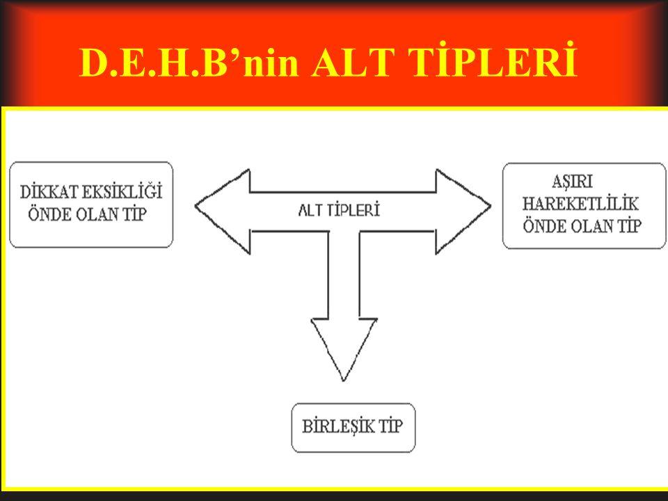 D.E.H.Bnin ALT TİPLERİ