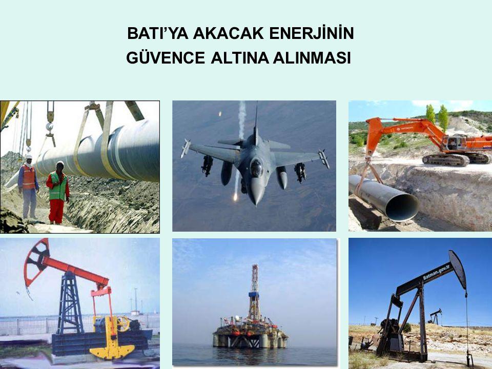 GÜVENCE ALTINA ALINMASI BATI'YA AKACAK ENERJİNİN