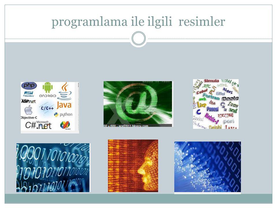 programlama ile ilgili resimler