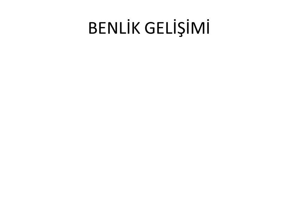 BENLİK GELİŞİMİ