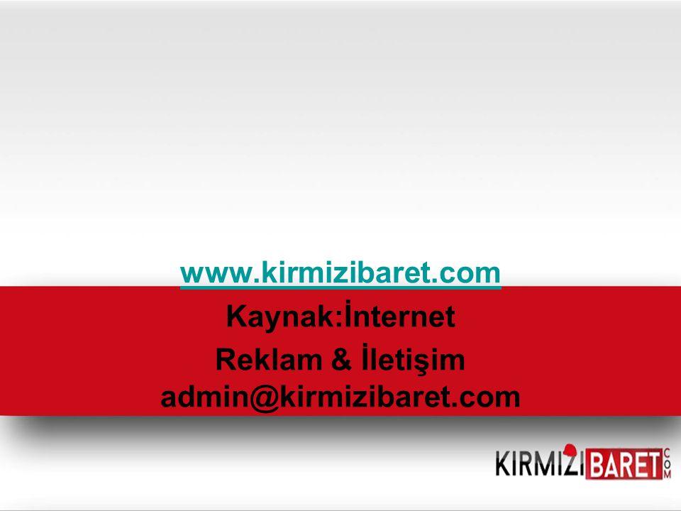 www.kirmizibaret.com Kaynak:İnternet Reklam & İletişim admin@kirmizibaret.com