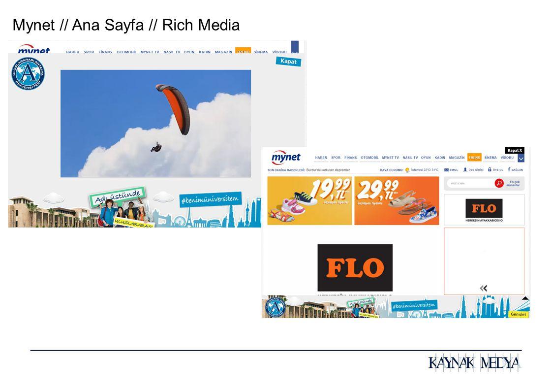 Mynet // Ana Sayfa // Rich Media