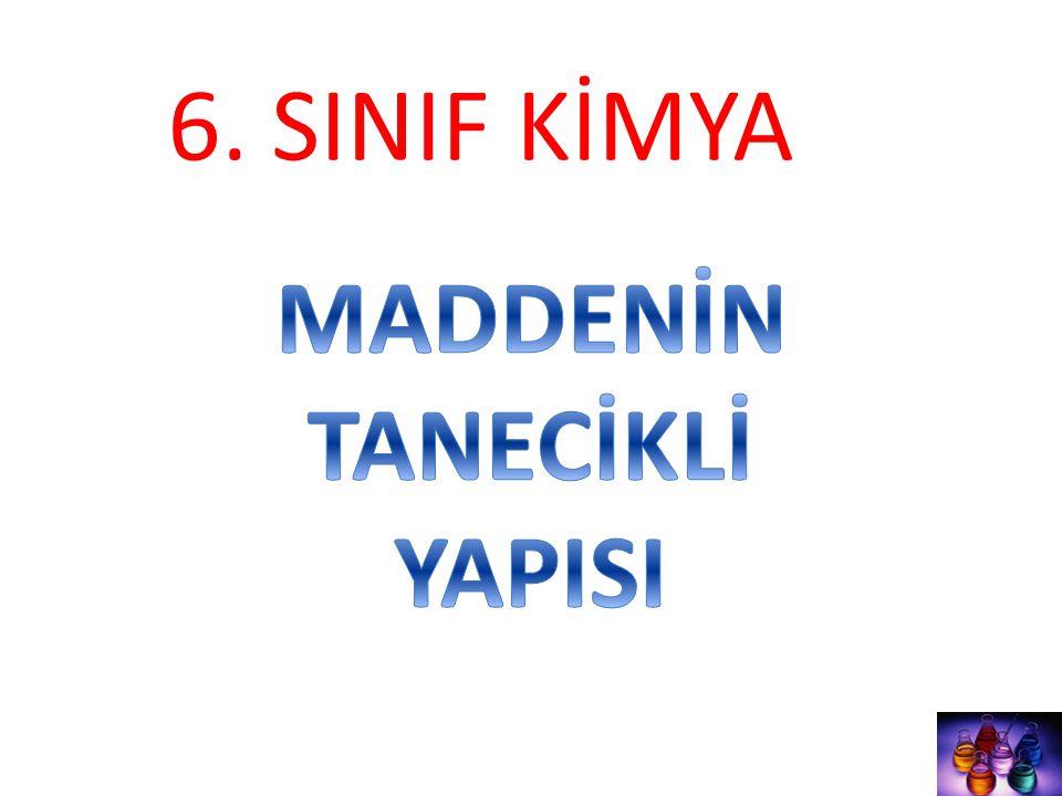 6. SINIF KİMYA