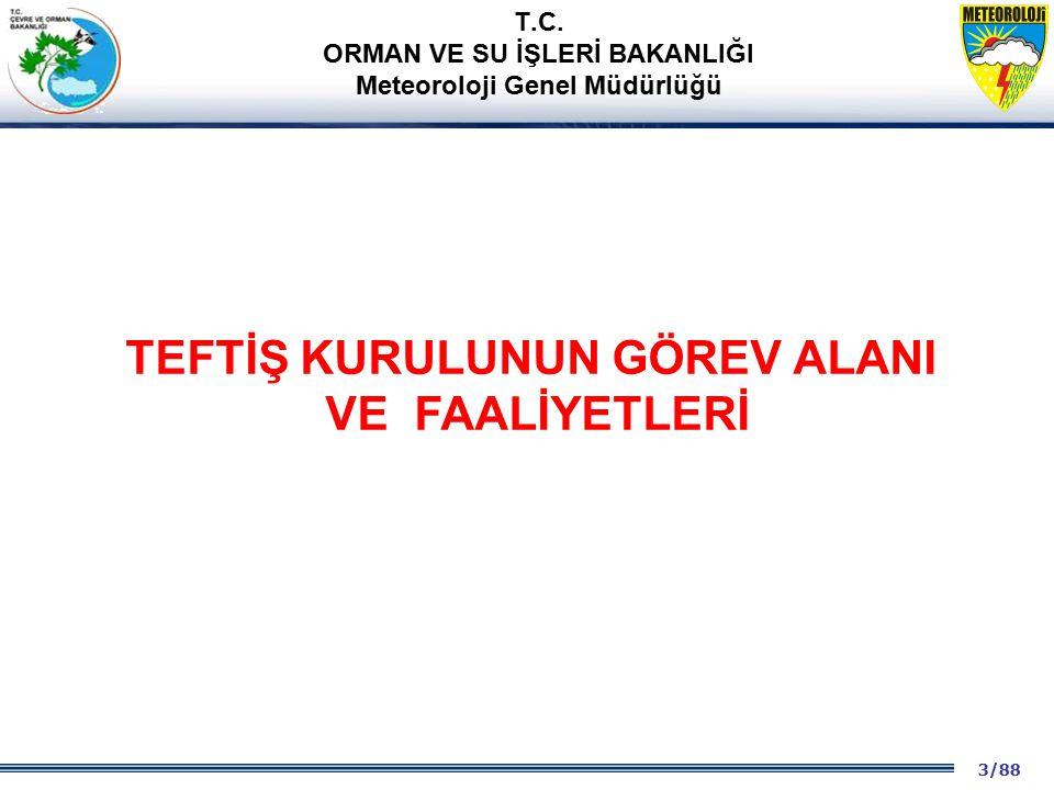 14/88 2001 2003 2009- 2012 ANAYASA VE 657'DE YÖNETİME İLİŞKİN DÜZENLEMELER T.C.