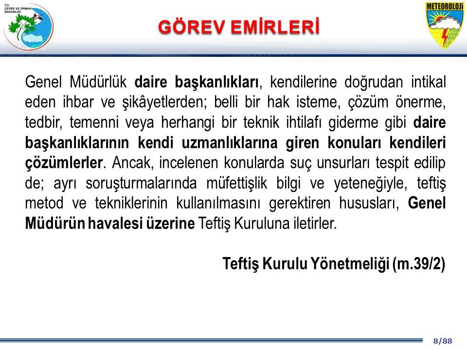 69/88 2001 2003 2009- 2012 SUÇ: Devletin ceza tehdidi ile yasakladığı fiillerdir.