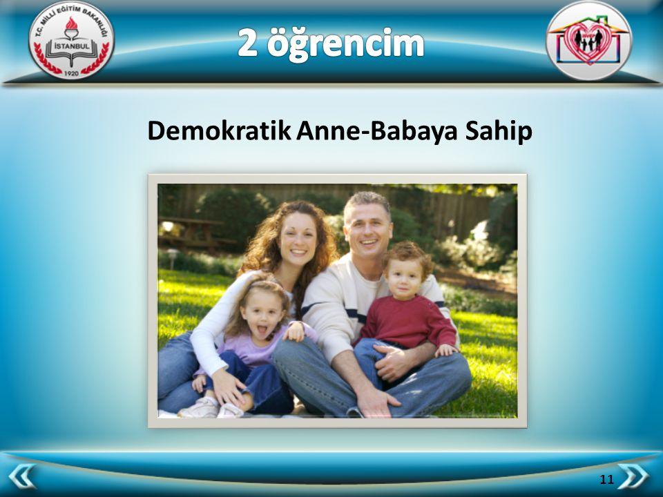 Demokratik Anne-Babaya Sahip 11
