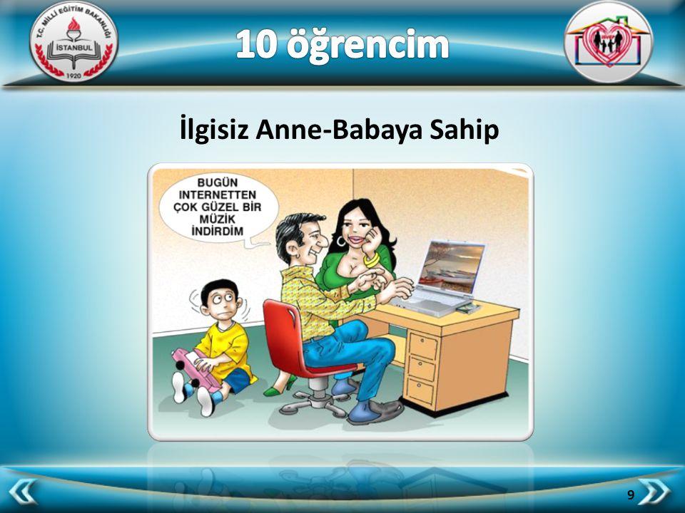 Tutarsız Anne-Babaya Sahip 10