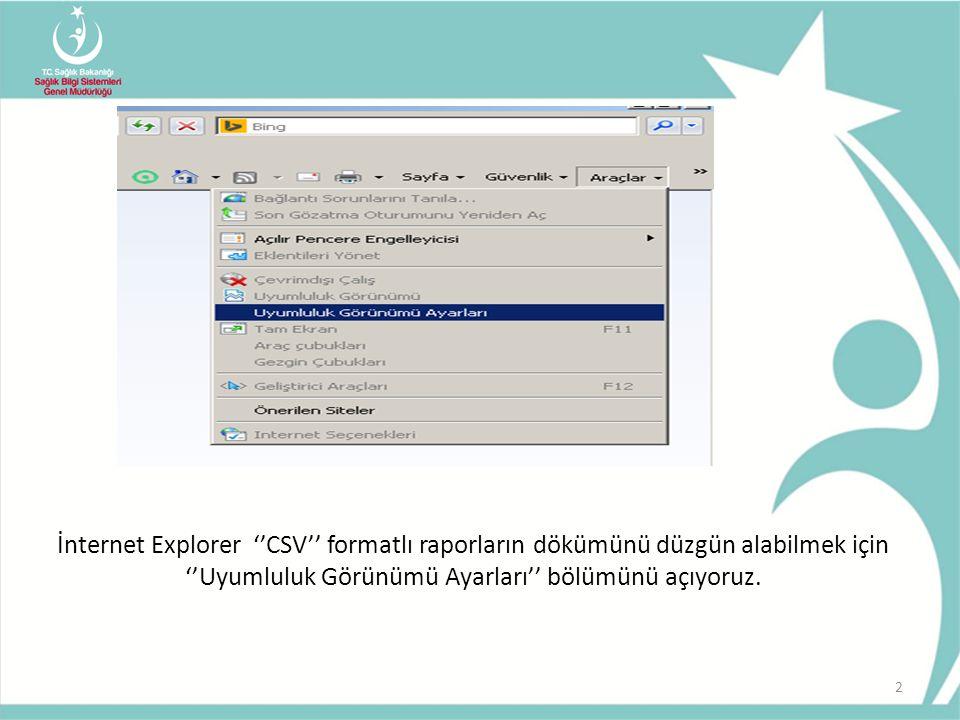 Gelen ekrana ''saglik.gov.tr'' adresini ekliyoruz.