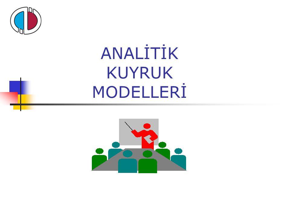 ANALİTİK KUYRUK MODELLERİ