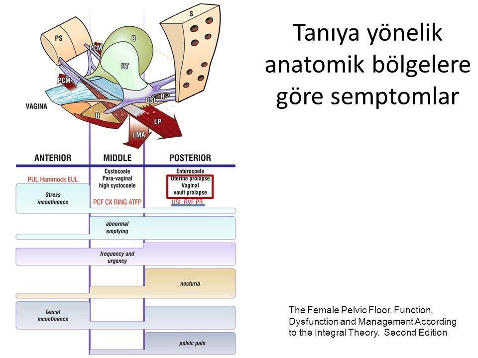AUSS- POP-Q pre/post-op ve operatif komplikasyonlar Am J Obstet Gynecol 2009;200:656.e1-656.e5.