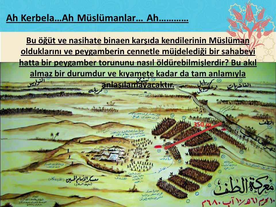 Bu öğüt ve nasihate binaen karşıda kendilerinin Müslüman olduklarını ve peygamberin cennetle müjdelediği bir sahabeyi hatta bir peygamber torununu nas