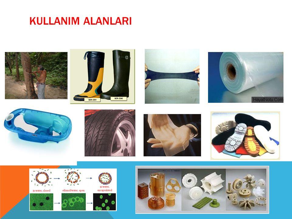 SPOR EŞYALARI Yukarıda tekstil malzemeleri kısmında da bahsettiğimiz gibi polimerler spor eşya üretiminde yaygın olarak kullanılmaktadır.