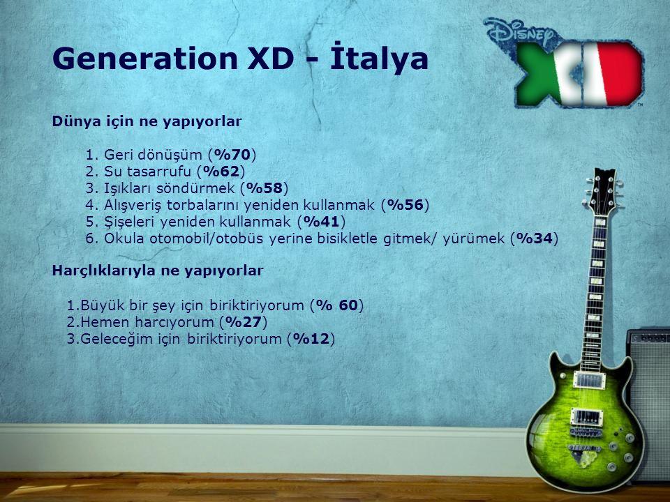Generation XD - İtalya Dünya için ne yapıyorlar 1.