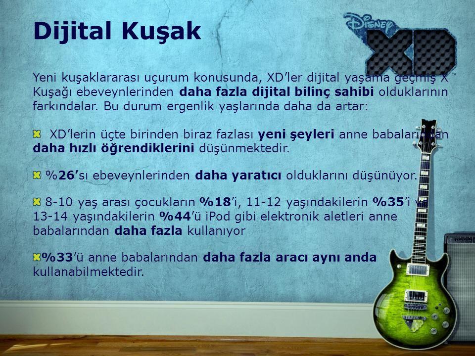Yeni kuşaklararası uçurum konusunda, XD'ler dijital yaşama geçmiş X Kuşağı ebeveynlerinden daha fazla dijital bilinç sahibi olduklarının farkındalar.