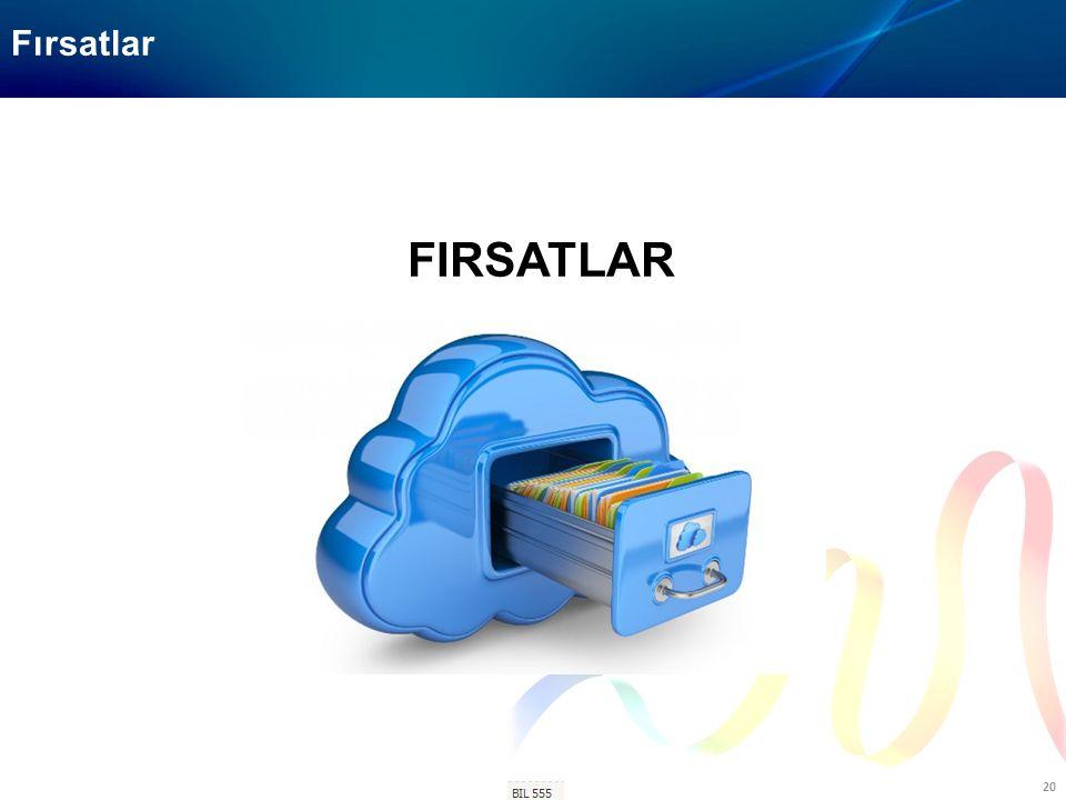 BIL-506 20 Fırsatlar FIRSATLAR