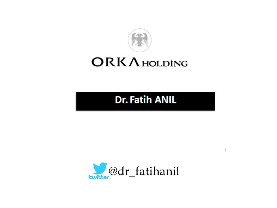 Dr. Fatih ANIL @dr_fatihanil