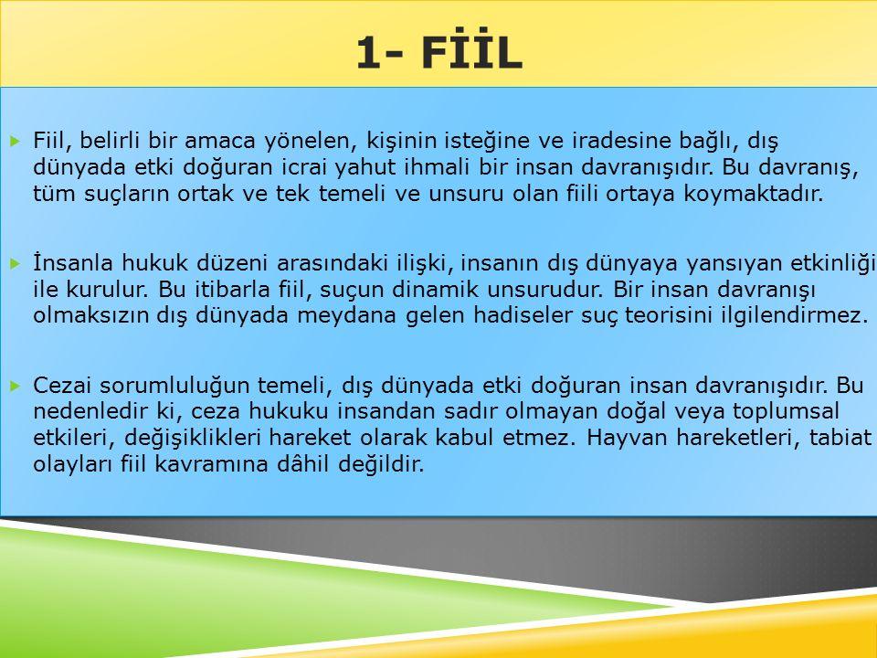 TÜZEL KİŞİLERİN SUÇ FAİLİ OLUP OLAMAYACAĞI SORUNU  Türk Ceza Kanunu, tüzel kişilerin bir suçun faili olarak cezalandırılamayacakları kuralını benimsemiştir (TCK.m.20).