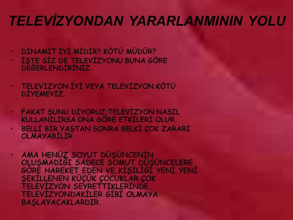 www.rehberlikportali.com © rehberlikportali@gmail.com DİNAMİT İYİ MİDİR.