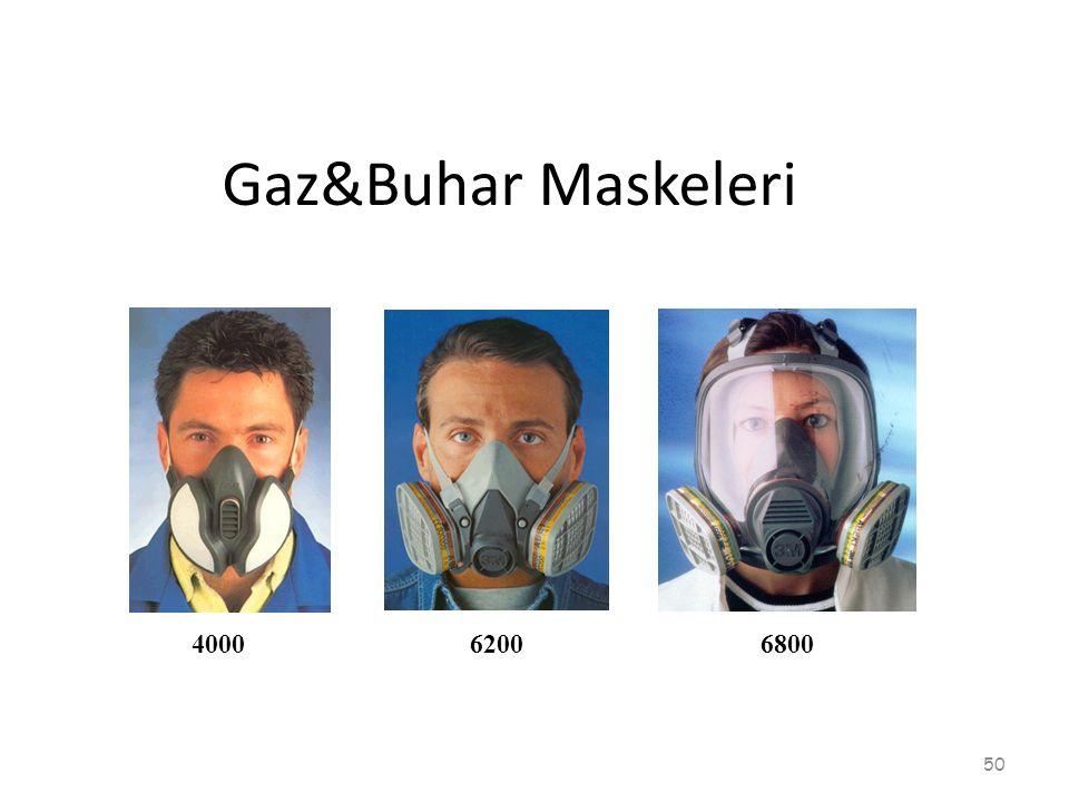 400062006800 Gaz&Buhar Maskeleri 50