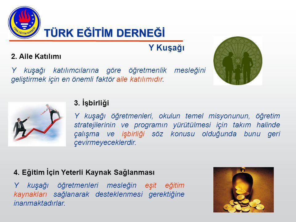 TÜRK EĞİTİM DERNEĞİ Y Kuşağı 5.