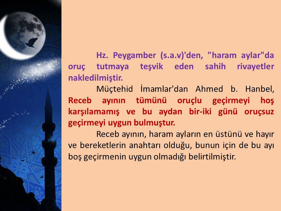 Hz. Peygamber (s.a.v)'den,