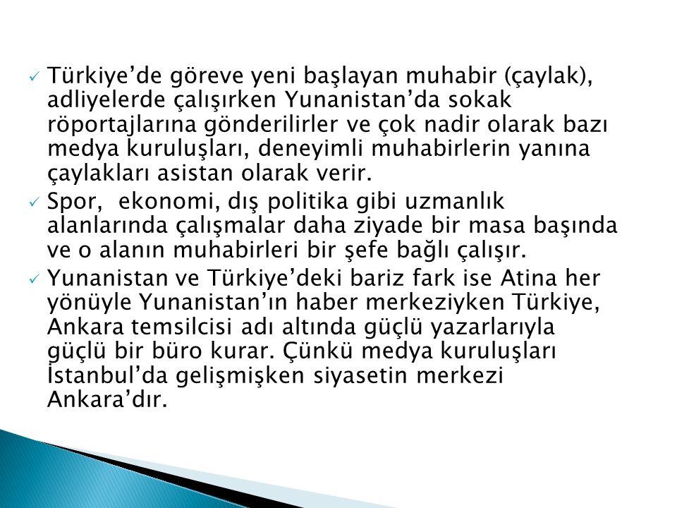 Muhabir İstanbul'a haberi yollar.Ancak; Haberin %30-40 arasında yayınlanma şansı vardır.