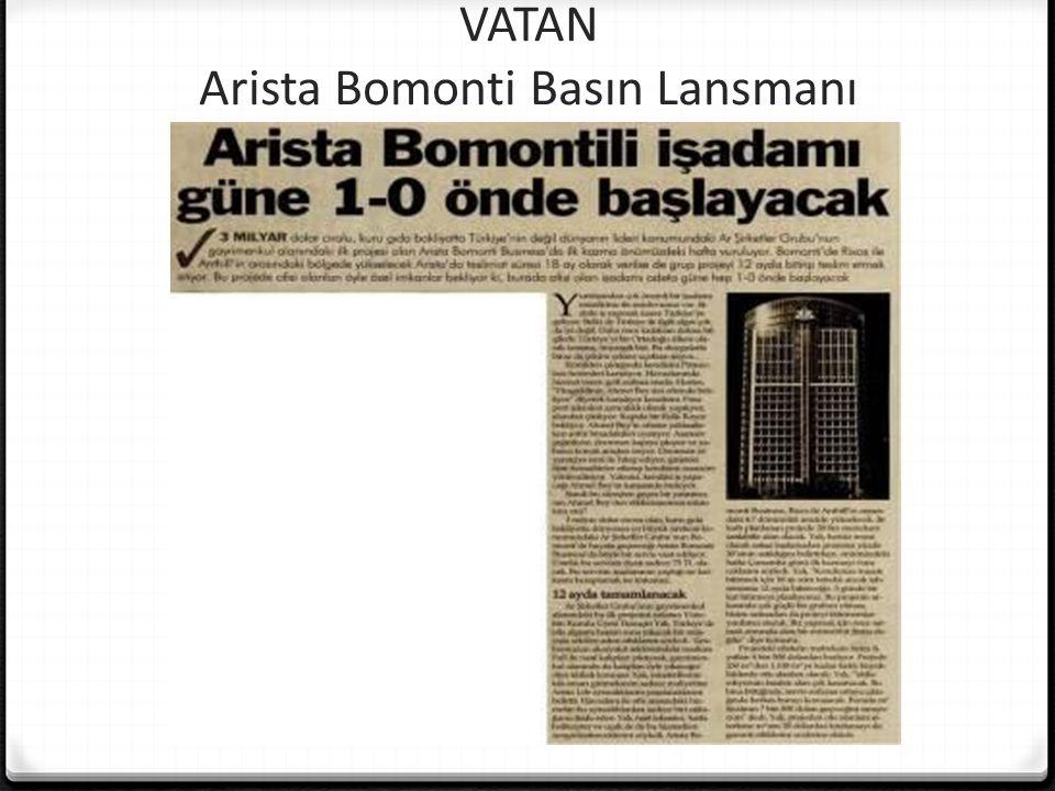 VATAN Arista Bomonti Basın Lansmanı