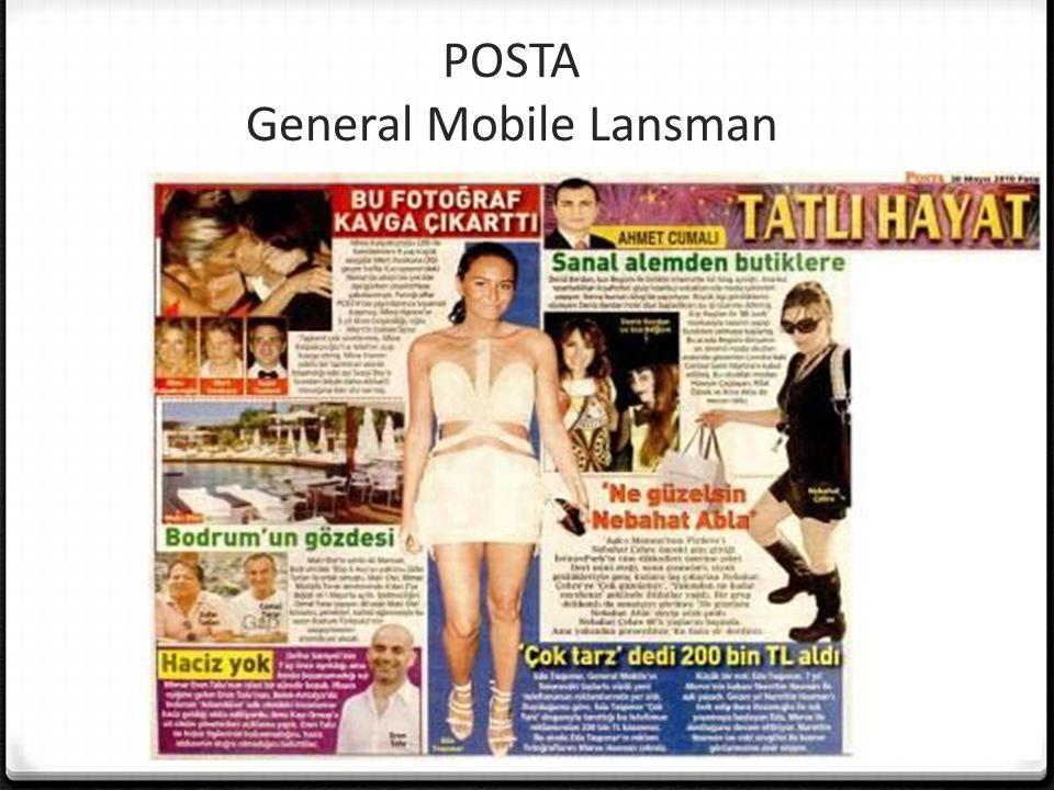 POSTA General Mobile Lansman