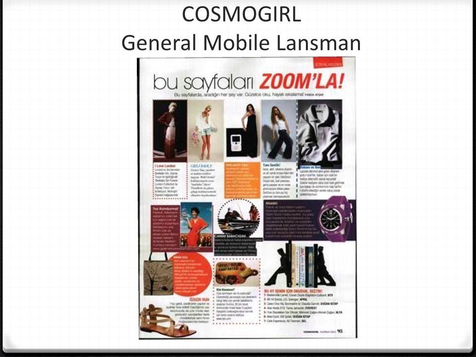 COSMOGIRL General Mobile Lansman