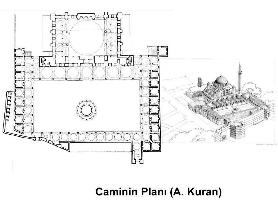 Camideki Hasar Durumunu Gösteren Rölöve Projesine Ait AA ve BB Kesiti (AD Mimarlık, Vakıflar İstanbul 1.