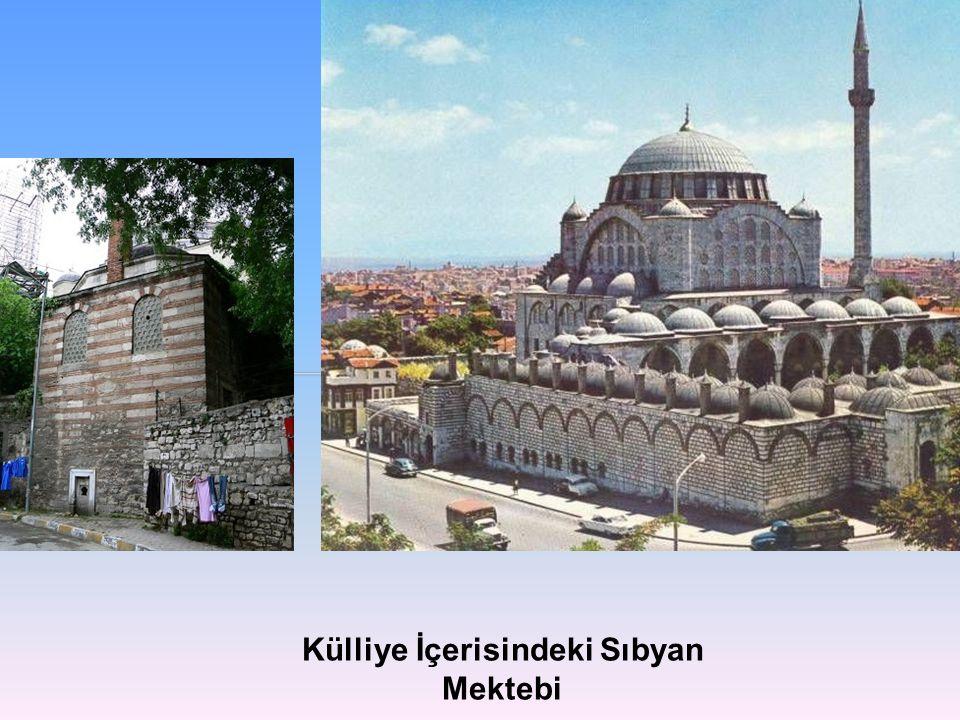 Mihrimah Sultan Caminin İç ve Dış Görünümü (Müller-Wiener. 1977)