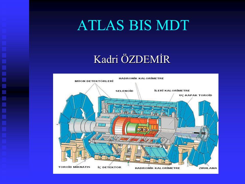 ATLAS BIS MDT Kadri ÖZDEMİR Kadri ÖZDEMİR
