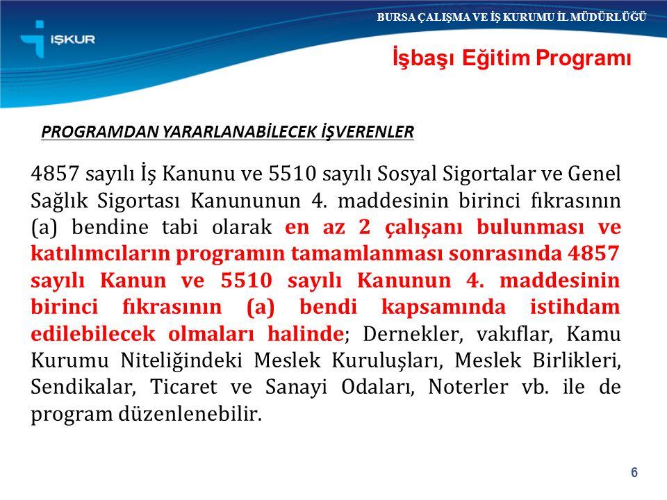 İşverenden; Vergi SGK primi ve prime ilişkin borcu SGK'ca kesilmiş idari para cezası olmadığına dair belge İSTENMEZ.