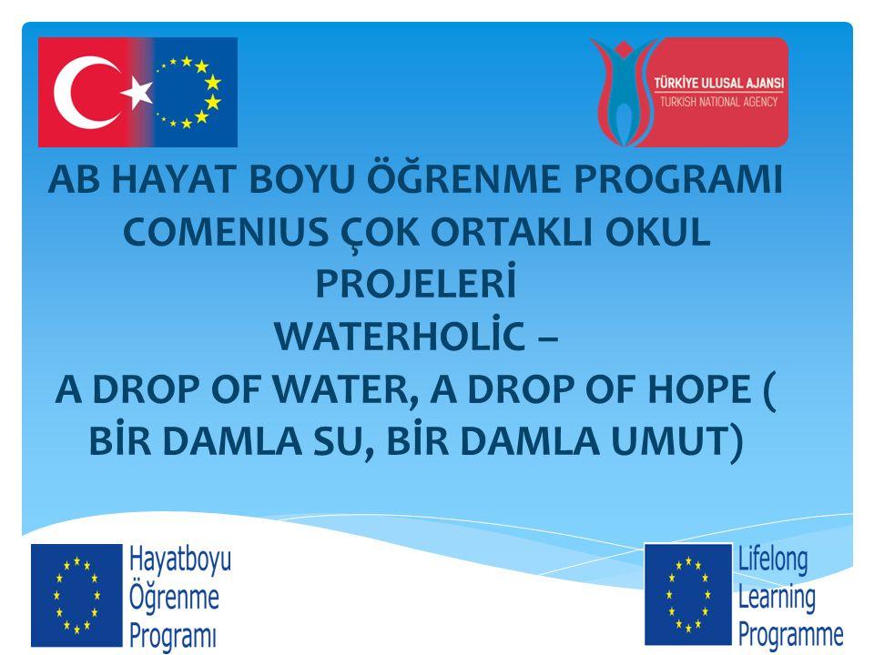  Türkiye proje konferansını ve su yönetimi ile ilgili video hazırlanmasından sorumlu olacak.