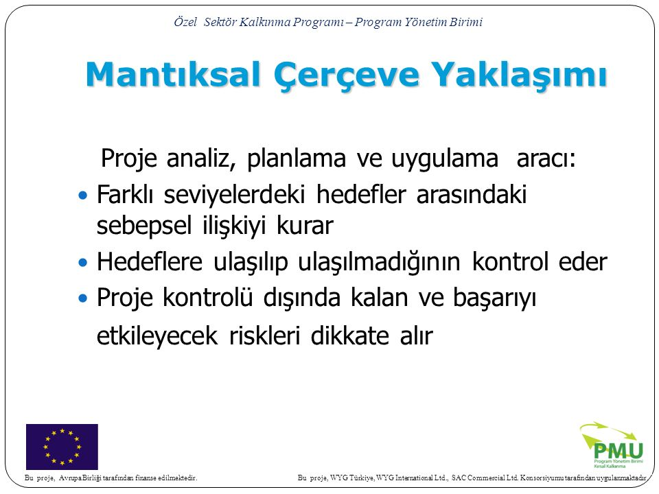 Bu proje, WYG Türkiye, WYG International Ltd., SAC Commercial Ltd.