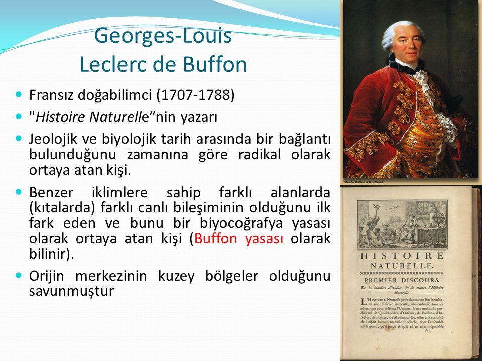 Georges-Louis Leclerc de Buffon Fransız doğabilimci (1707-1788)