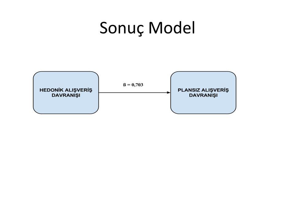 Sonuç Model